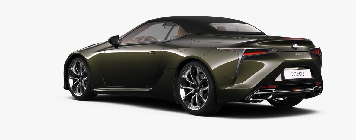 Demo Lexus Lc Convertible 5.0L petrol AT Base LHD 6X4 - Terrane Khaki 3