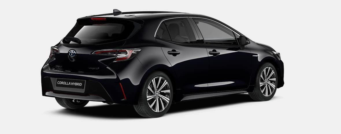 Nieuw Toyota Corolla hb & ts Hatchback 1.8 Hybrid CVT Dynamic LHD 209 - BLACK MICA 3