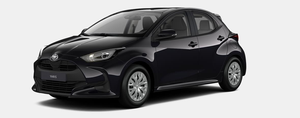 Nieuw Toyota Yaris 5 d. 1.5 Hybrid e-CVT Dynamic LHD 209 - BLACK MICA 1