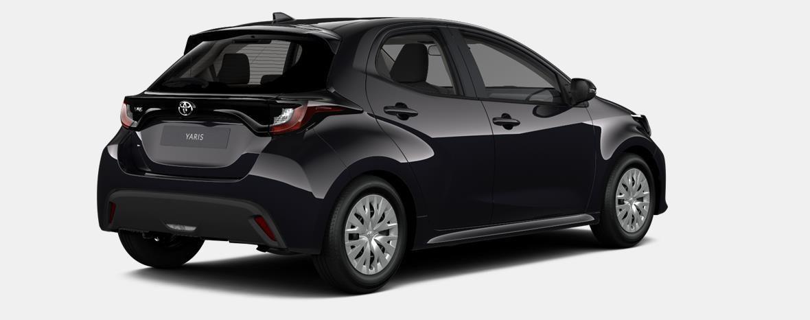 Nieuw Toyota Yaris 5 d. 1.5 Hybrid e-CVT Dynamic LHD 209 - BLACK MICA 3