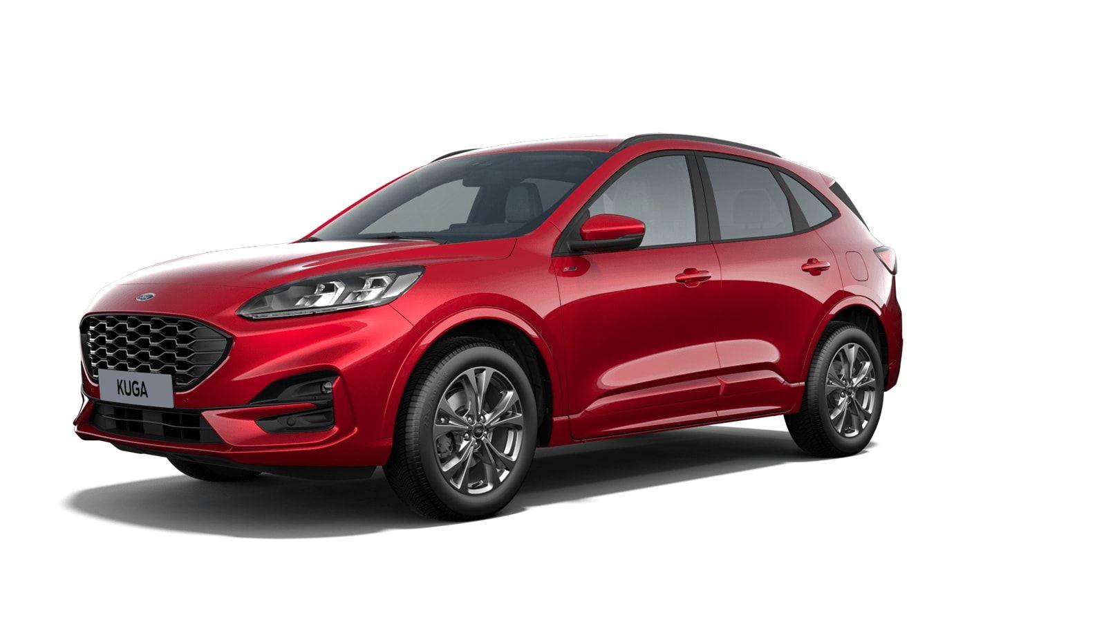 "Demo Ford All-new kuga ST-Line X 1.5 EcoBoost 150pk M6 NYE - ""Lucid Red"" Exclusieve metaalkleur 1"