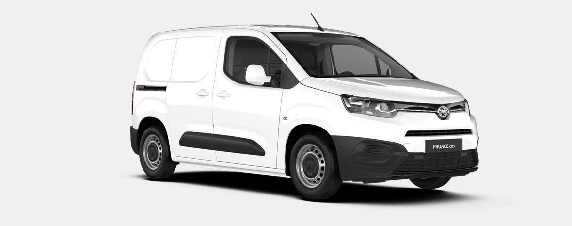 Nieuw Toyota Proace city Panel Van SWB 1.2L Petrol MT Active LHD EWP - WHITE 4