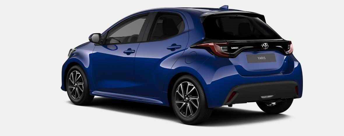 Nieuw Toyota Yaris 5 d. 1.5 VVT-iE 6MT Iconic LHD 8W7 - COBALT BLUE METALLIC 2