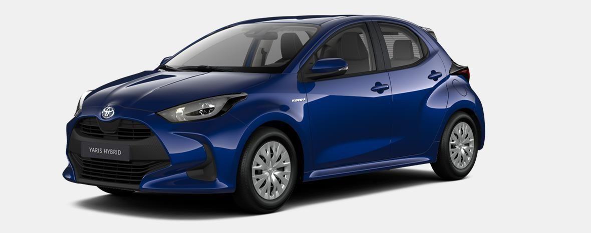 Nieuw Toyota Yaris 5 d. 1.5 Hybrid e-CVT Dynamic LHD 8W7 - COBALT BLUE METALLIC 1