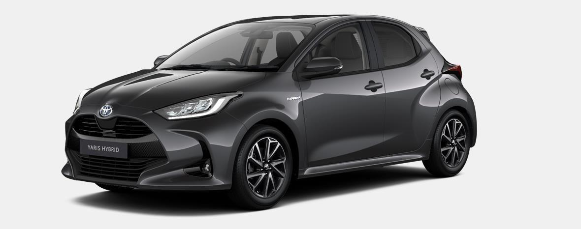 Nieuw Toyota Yaris 5 d. 1.5 Hybrid e-CVT Iconic LHD 1G3 - DARK GREY METALLIC 1