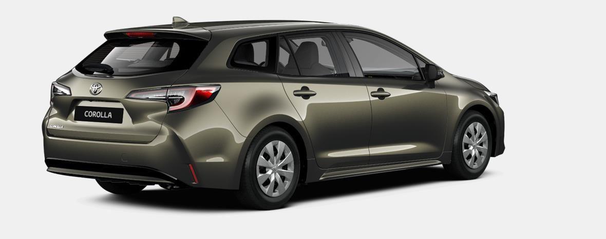 Nieuw Toyota Corolla hb & ts Touring Sports 2.0 e-CVT Hybrid CVT Prem 6X1 - OXIDE BRONZE METALLIC 3