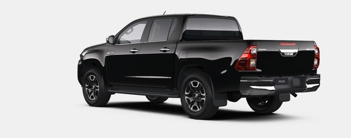 Nieuw Toyota Hilux 4x4 Double Cab 2.8 204hp 6AT Invincible LHD 218 - BLACK MICA 2