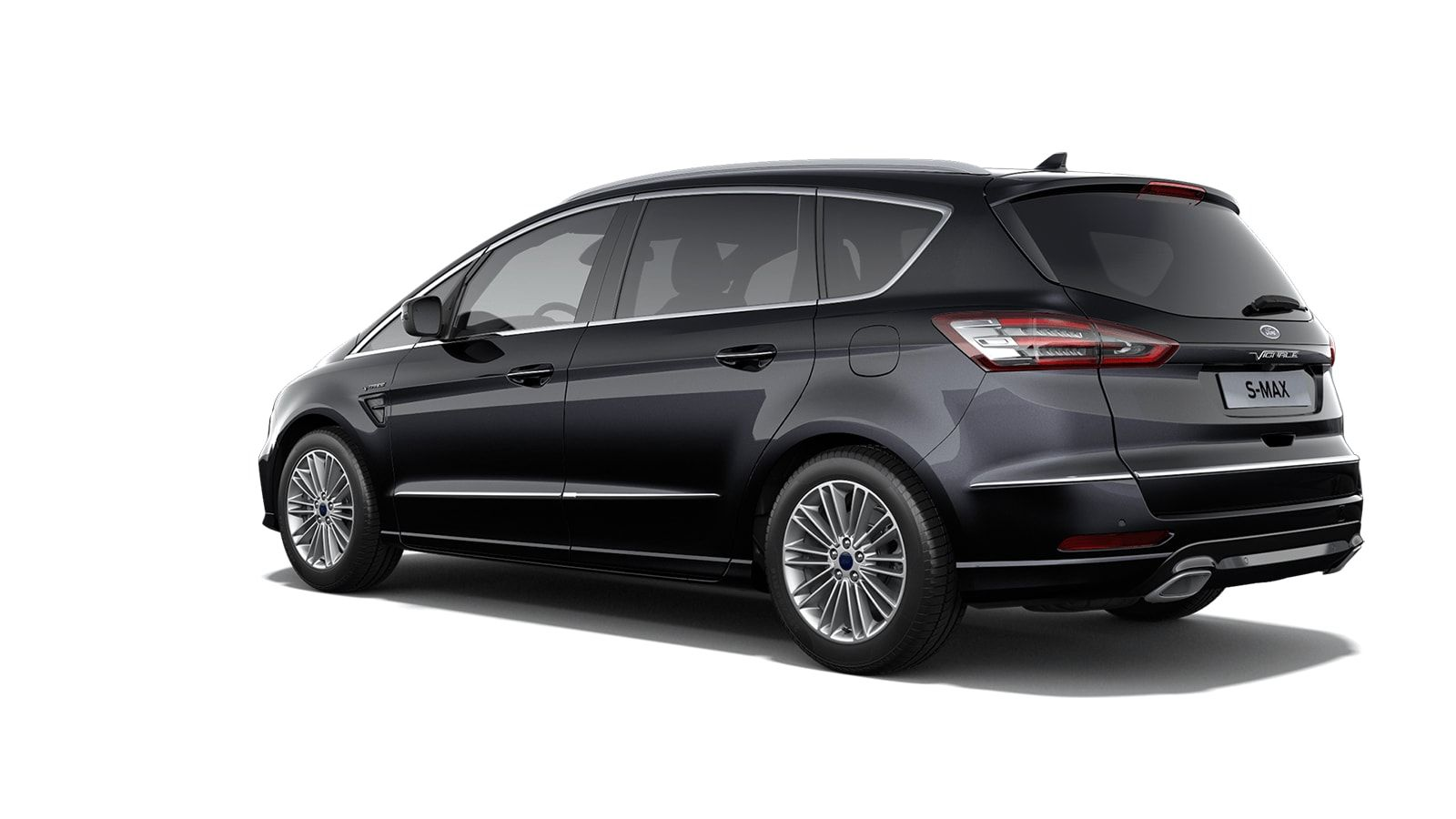 "Nieuw Ford S-max Vignale 2.0 TDCi 190pk / 139kW Auto-Start-Stop A8 - 5d 9I6 - ""Agate Black Vignale"" metaalkleur 2"