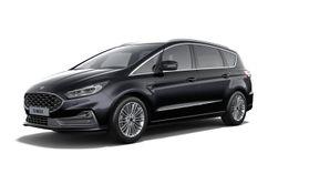 """Demo Ford S-max Vignale 2.5i HEV 190pk / 140kW HF45aut - 5d 9I6 - """"Agate Black Vignale"""" metaalkleur"""