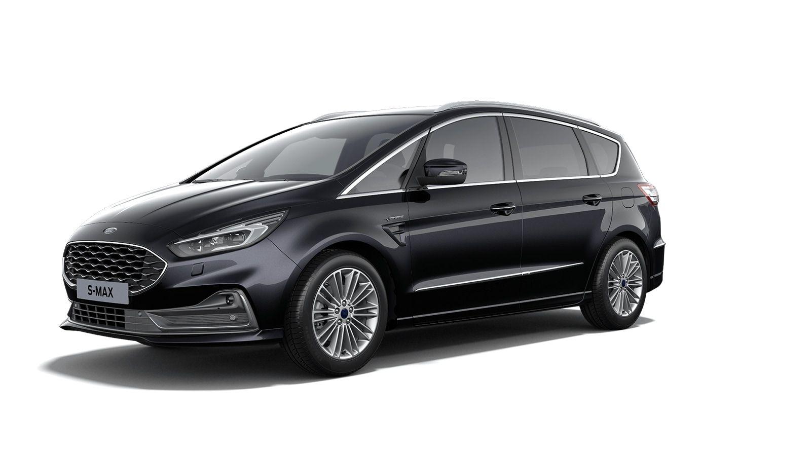 """Demo Ford S-max Vignale 2.5i HEV 190pk / 140kW HF45aut - 5d 9I6 - """"Agate Black Vignale"""" metaalkleur 1"""