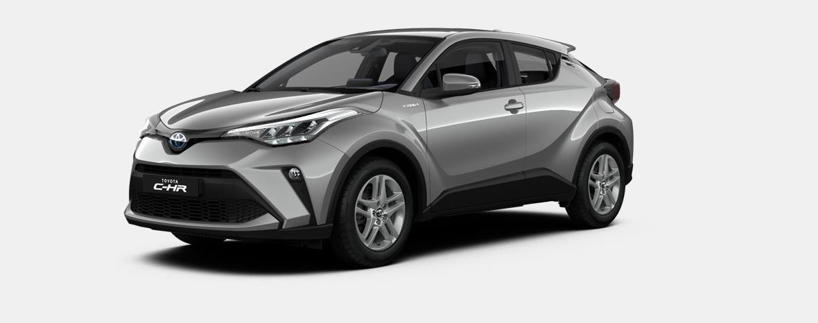 Nieuw Toyota Toyota c-hr 5 d. 1.8L Hybrid CVT C-ENTER LHD 1K0 - METAL STREAM 1
