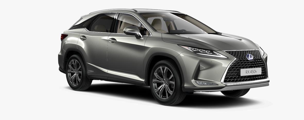 Demo Lexus Rx SUV MWB 450h AWD - E-CVT Executive Line 1J7 - Sonic Titanium 3