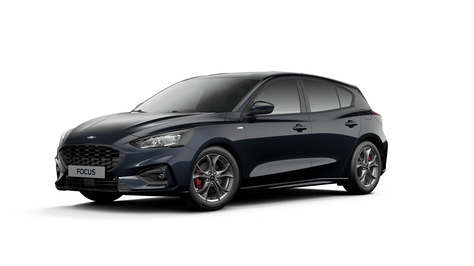 """Nieuw Ford Focus ST-Line X 1.0 EcoBoost 125ps A8 CL FCD - """"Panther Blue"""" Exclusieve metaalkleur 1"""