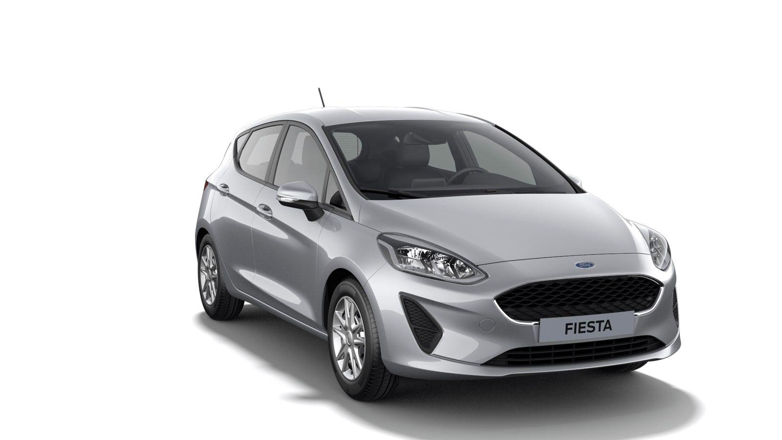 "Nieuw Ford All-new ford fiesta Connected 1.0i EcoBoost 95pk / 70kW M6 - 5d JK6 - Metaalkleur ""Moondust Silver"" 2"