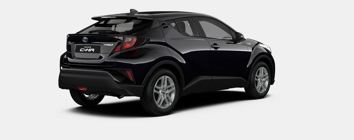 Nieuw Toyota Toyota c-hr 5 d. 1.8L Hybrid CVT C-ENTER LHD 209 - BLACK MICA 3