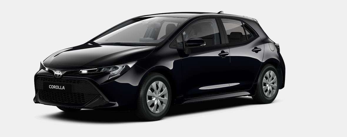 Nieuw Toyota Corolla hb & ts Hatchback 1.2 Turbo petrol 6 MT Dynamic 209 - BLACK MICA 1