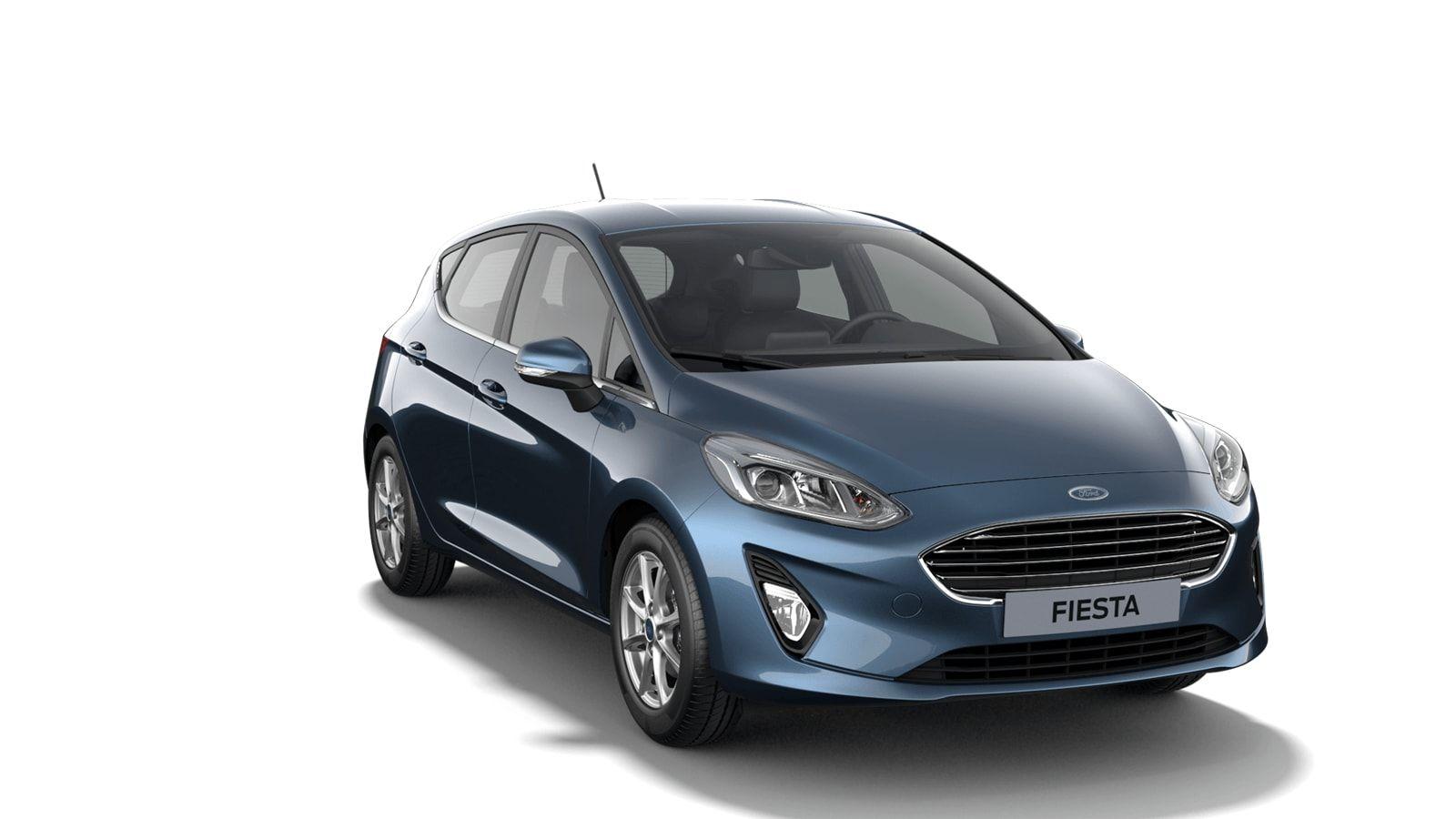 """Nieuw Ford All-new ford fiesta Titanium 1.0i EcBoost 95pk / 70kW M6 5d JKC - Metaalkleur """"Chrome Blue"""" 3"""