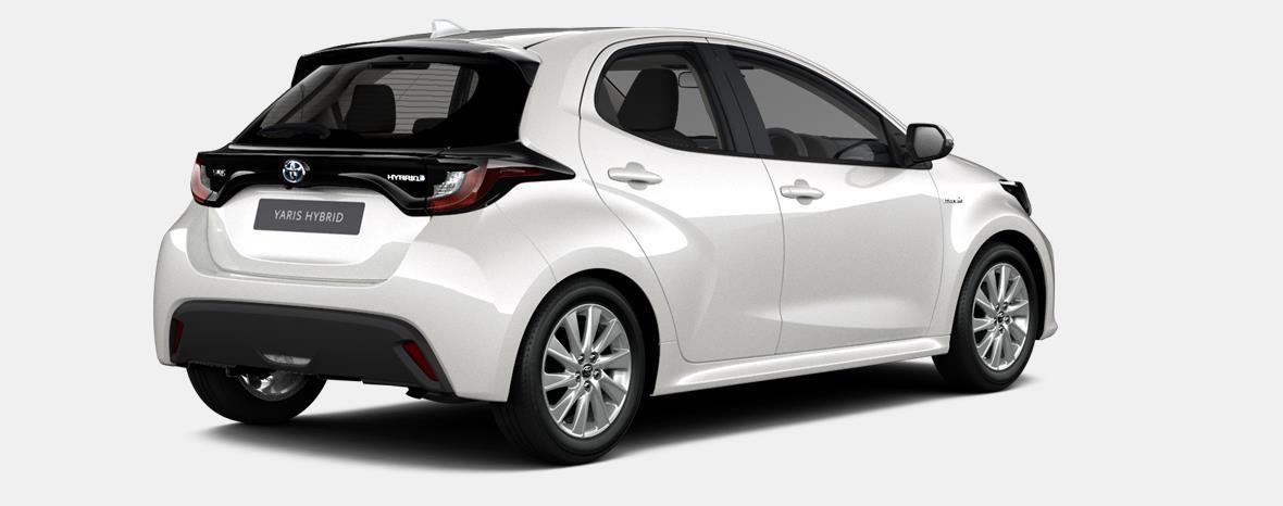 Nieuw Toyota Yaris 5 d. 1.5 Hybrid e-CVT Iconic LHD 089 - WHITE PEARL MC 3