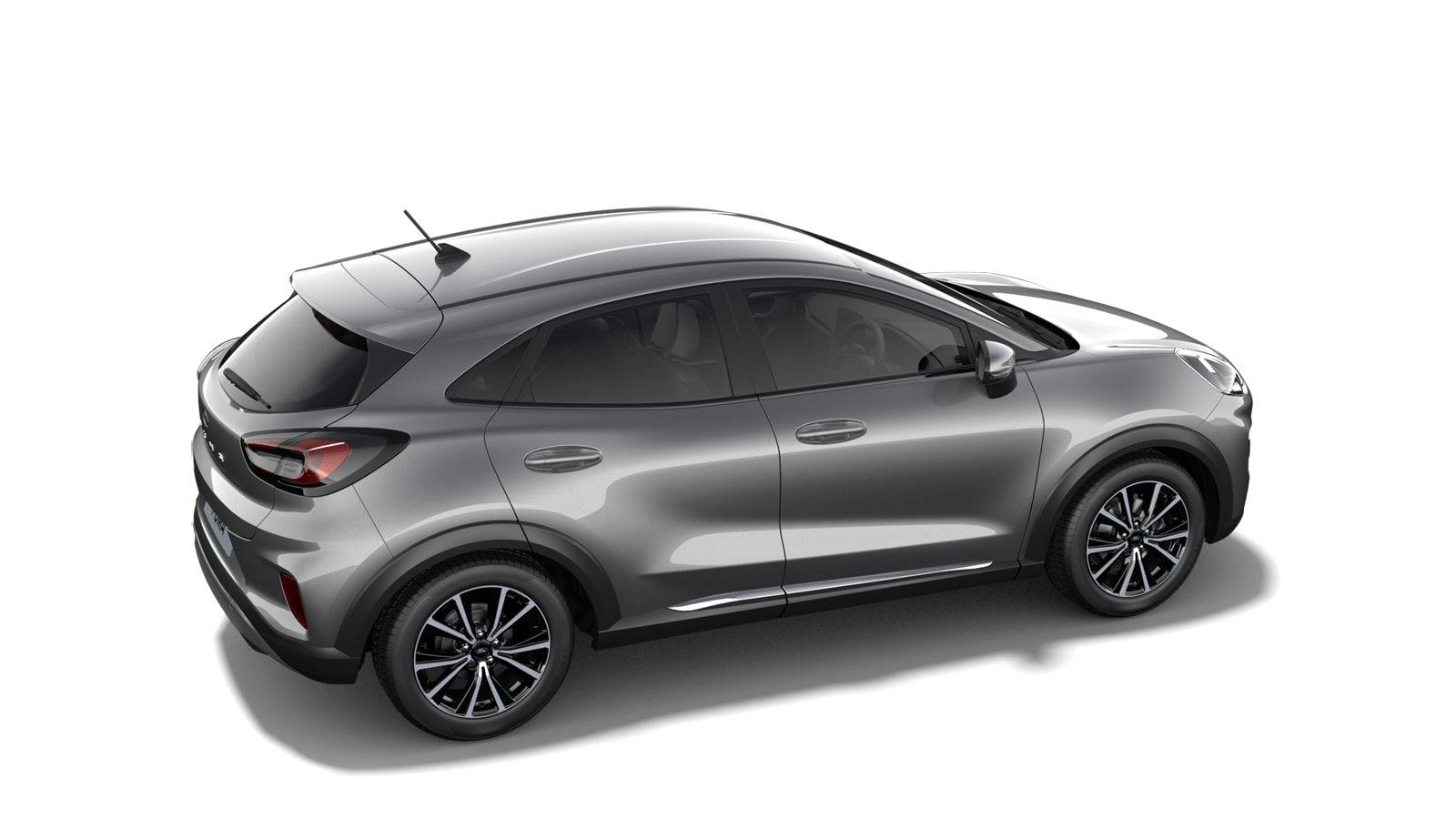 "Nieuw Ford Puma Titanium 1.0i EcoBoost mHEV 125ps / 92kW M6 2ZM - Metaalkleur ""Solar Silver"" 3"
