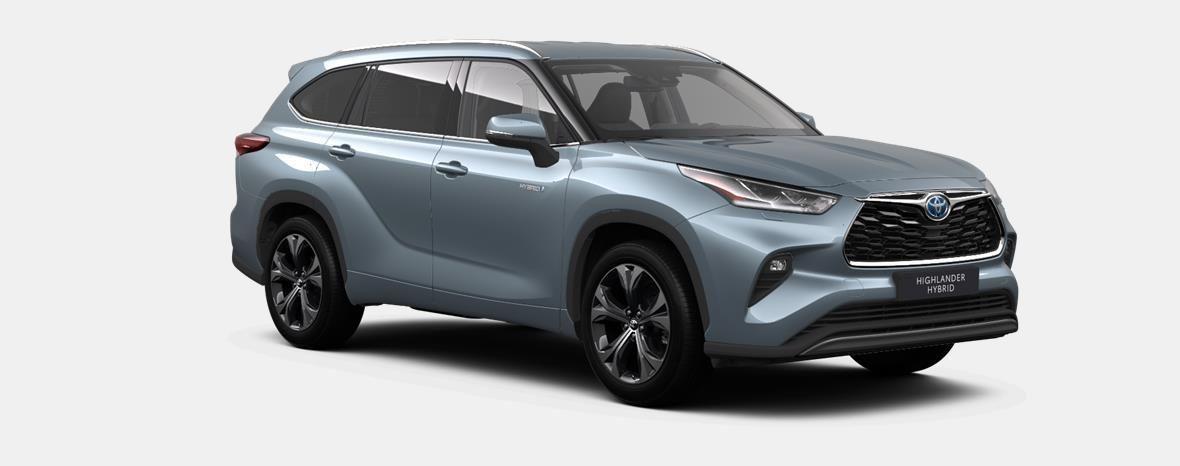 Nieuw Toyota Highlander SUV 2.5 HEV CVT Premium Plus LHD 1K5 - MOON DUST MICA 4