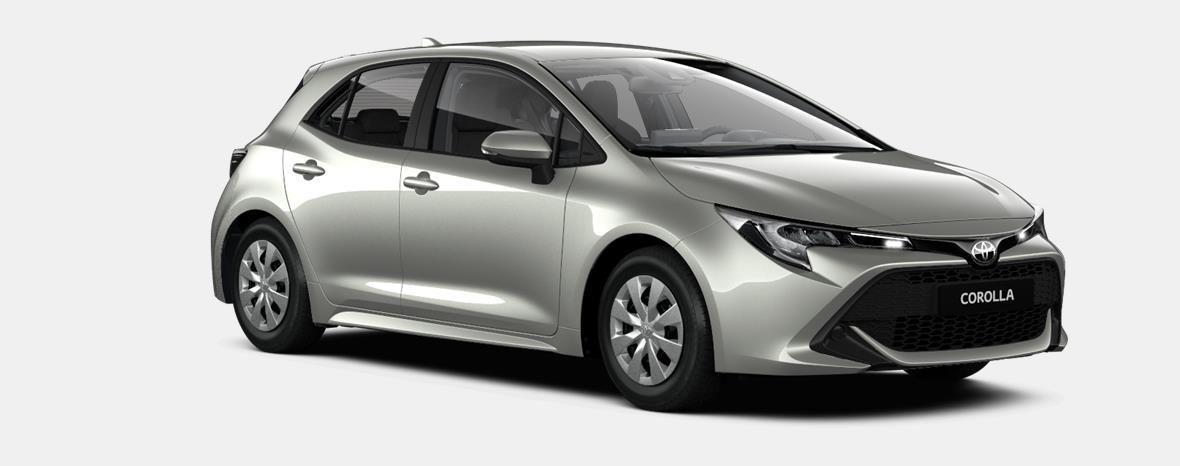 Nieuw Toyota Corolla hb & ts Hatchback 1.2 Turbo petrol 6 MT Dynamic 1J6 - PRECIOUS SILVER METALLIC 2