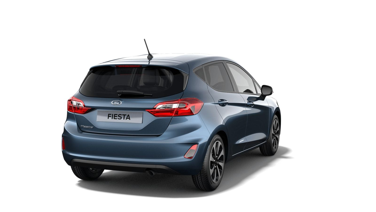 """Nieuw Ford All-new ford fiesta Connected 1.0i EcoBoost 95pk / 70kW M6 - 5d JKC - Metaalkleur """"Chrome Blue"""" 3"""