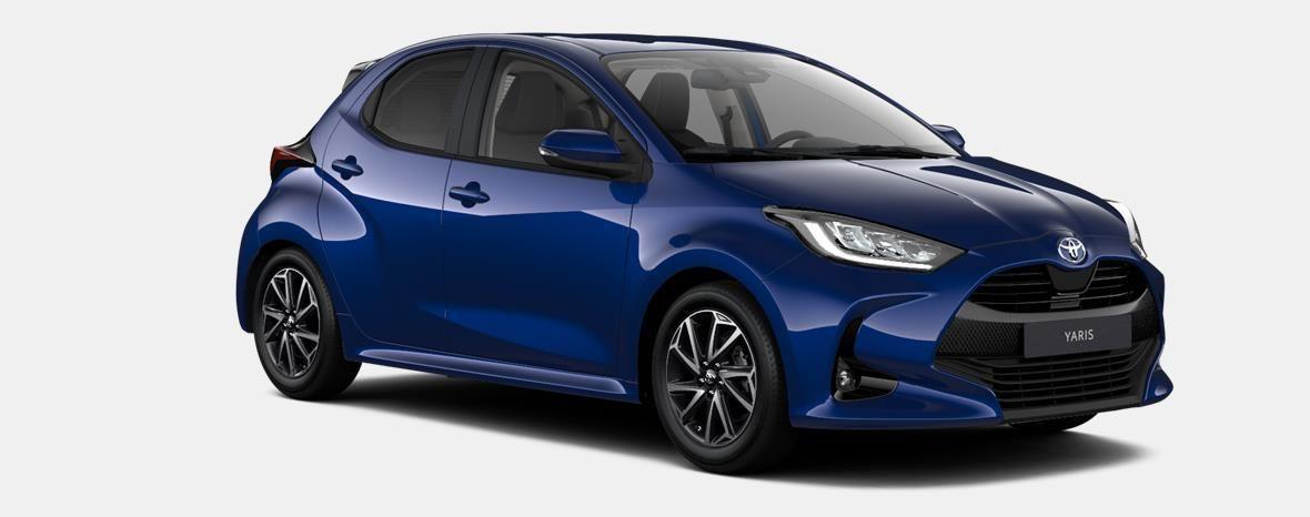 Nieuw Toyota Yaris 5 d. 1.5 VVT-iE 6MT Iconic LHD 8W7 - COBALT BLUE METALLIC 3