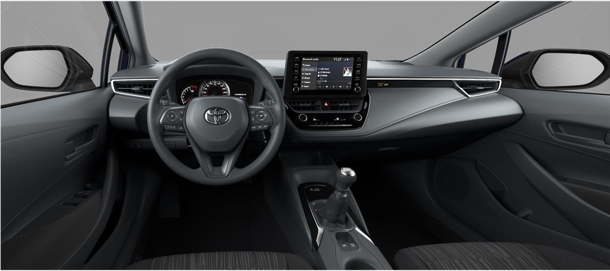 Nieuw Toyota Corolla hb & ts Touring Sports 1.8 e-CVT Hybrid CVT Prem 209 - BLACK MICA 5