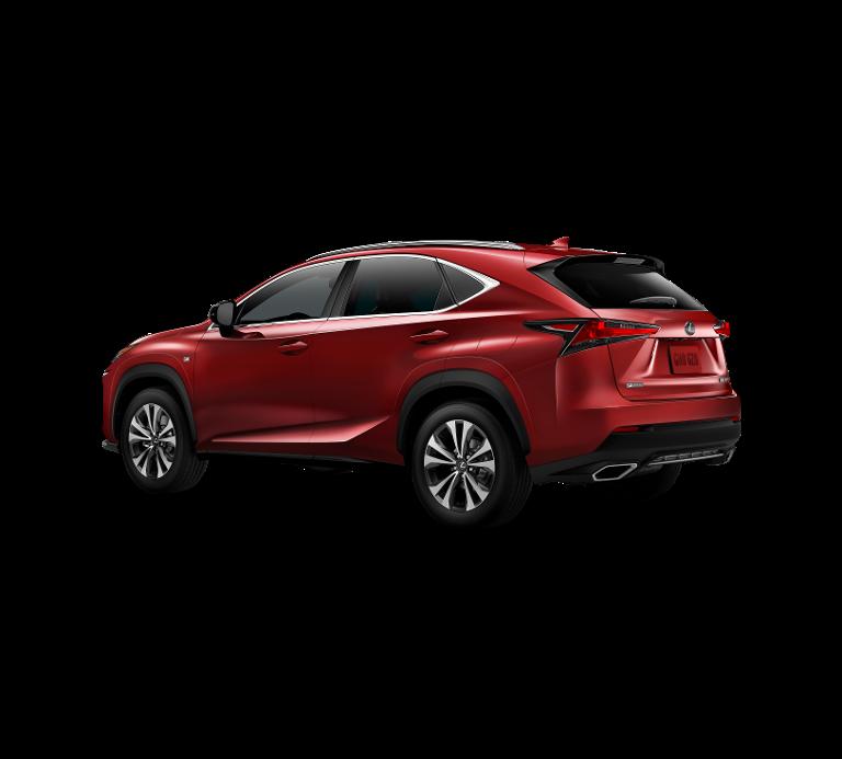 Demo Lexus Nx Crossover 300h AWD - E-CVT F SPORT Line 3R1 - Red Mica CS 2