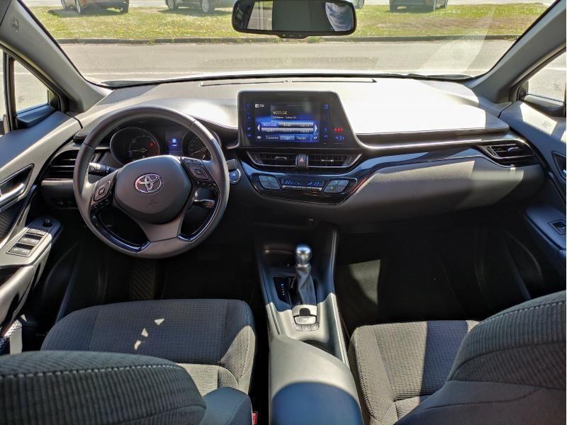 Occasie Toyota Toyota c-hr 5 d. 1.8 CVT HSD TC C-ENTER LHD 1F7 - ULTRA SILVER METALLIC 3