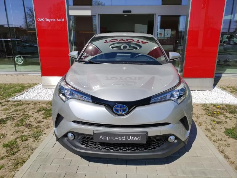 Occasie Toyota Toyota c-hr 5 d. 1.8 CVT HSD TC C-ENTER LHD 1F7 - ULTRA SILVER METALLIC 6