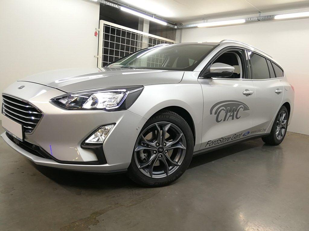"Demo Ford Focus Tit X 1.5 EcoBlue 120pk A8 CL FCO - ""Moondust Silver"" Metaalkleur 1"