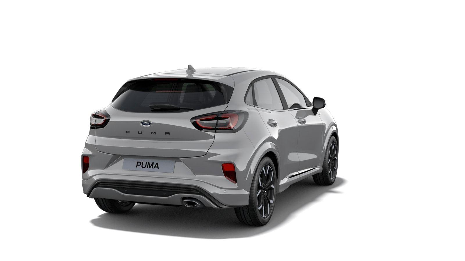 """Nieuw Ford Puma ST-Line X 1.0i EcoBoost mHEV 125ps / 92kW M6 2ZH - Speciale niet-metaalkleur """"Grey Matter"""" 3"""