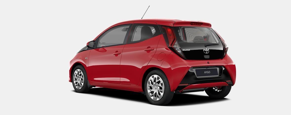 Nieuw Toyota Aygo 5 d. 1.0 VVT-i 5MT x-play2 LHD 3P0 - SUPER RED V 2