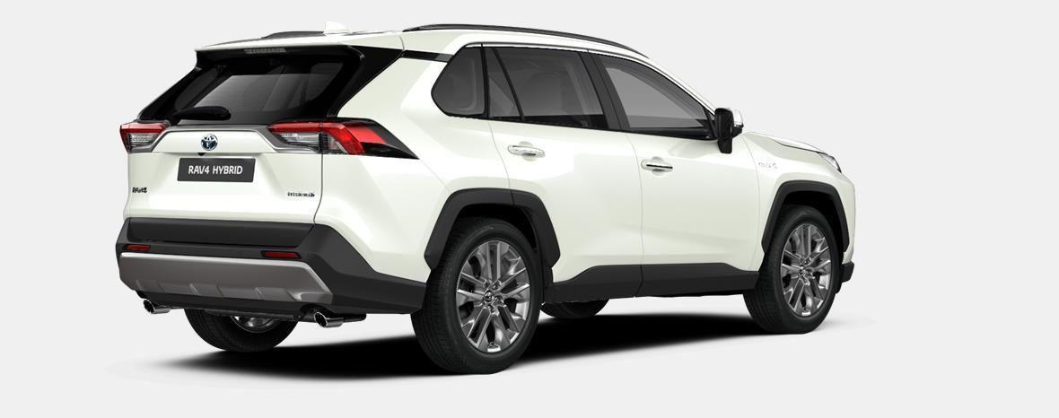 Nieuw Toyota Rav4 5 d. 2.5 Hybrid 2WD e-CVT Premium Plus L 070 - WHITE PEARL (070) 3