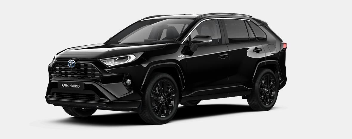 Nieuw Toyota Rav4 5 d. 2.5 Hybrid 2WD e-CVT Black Edition 218 - BLACK MICA 1