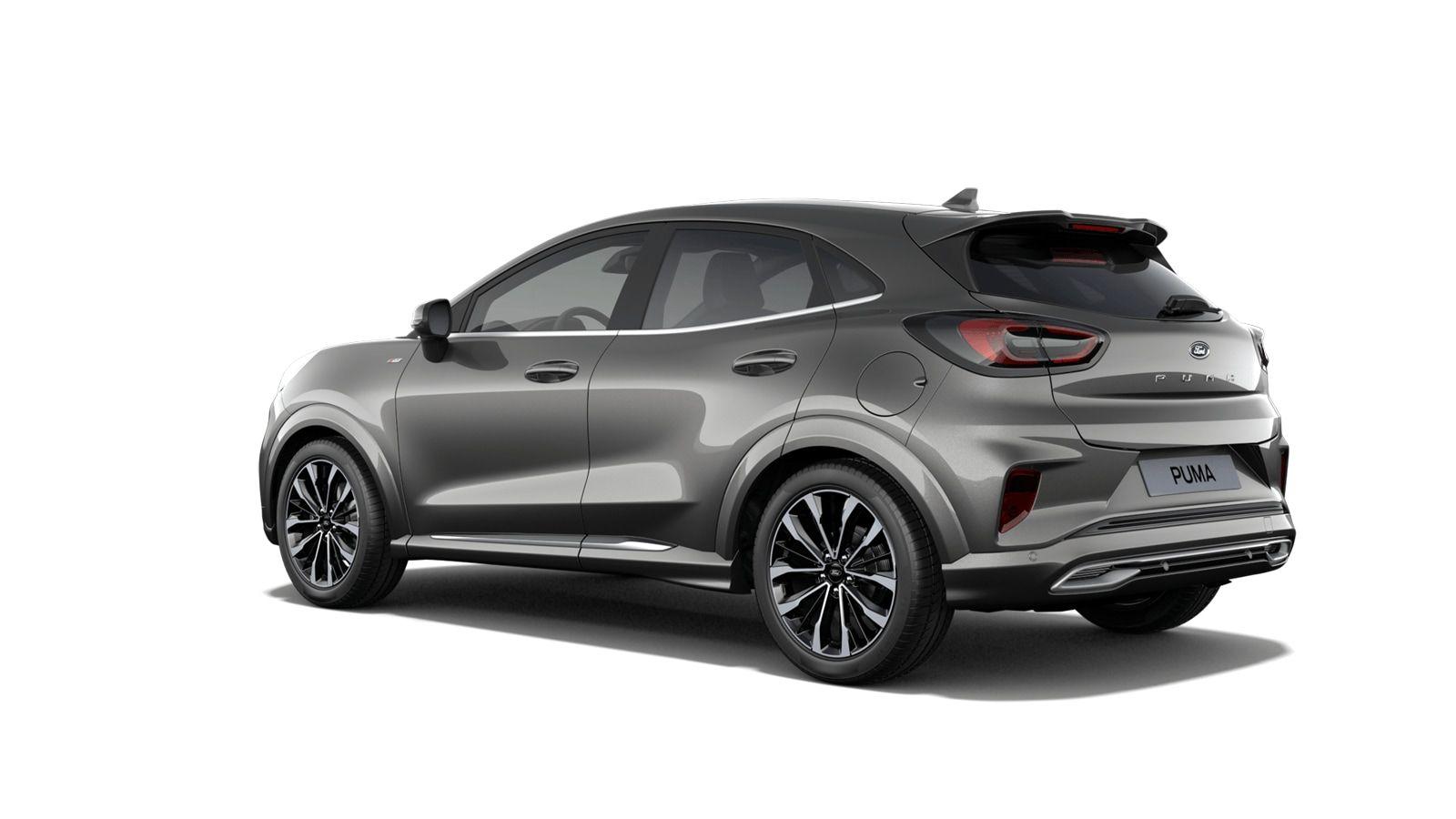 "Nieuw Ford Puma ST-Line 1.5 TDCi 120pk / 88kW M6 2ZQ - Metaalkleur ""Magnetic"" 2"
