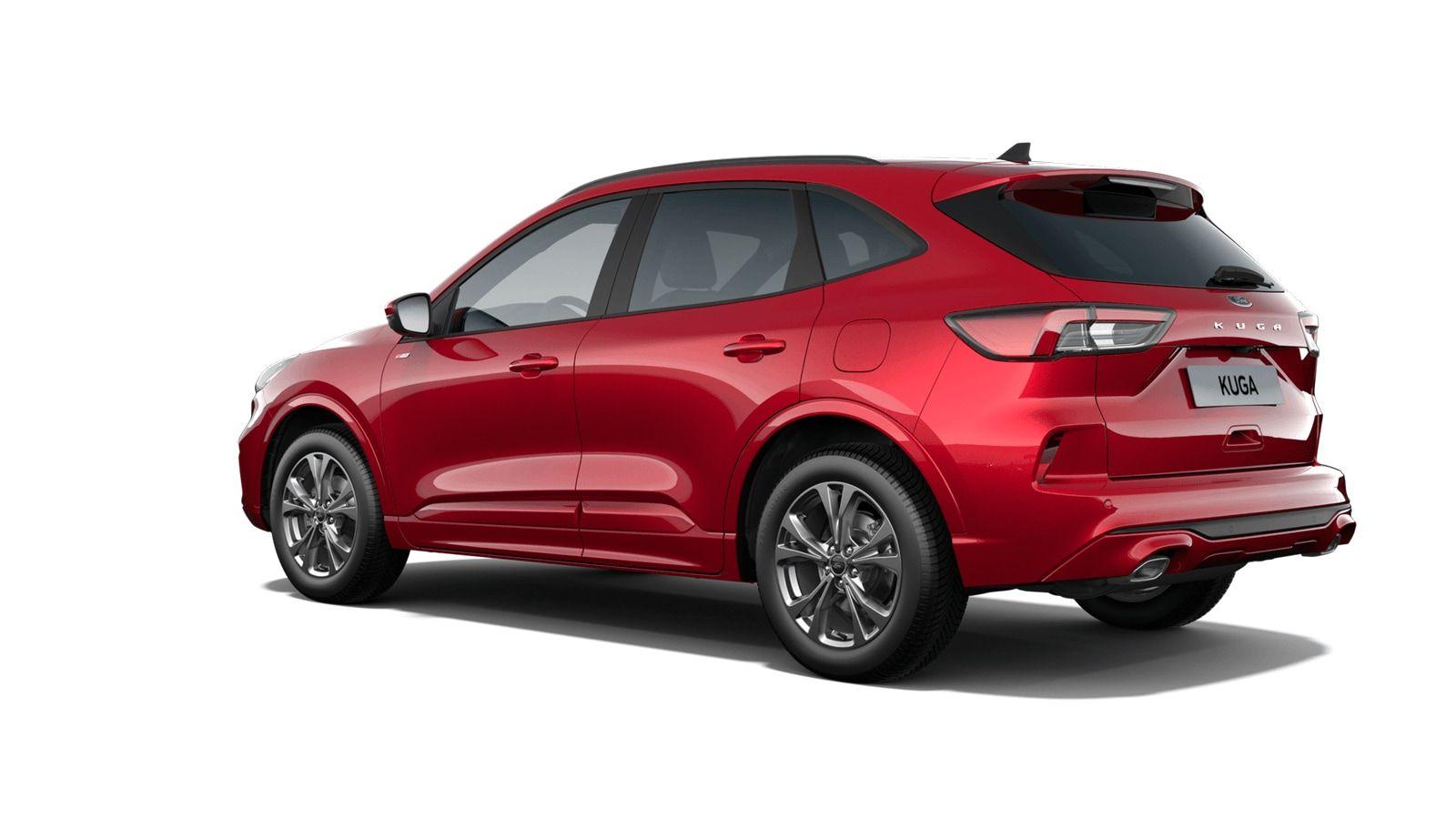 "Demo Ford All-new kuga ST-Line X 1.5 EcoBoost 150pk M6 NYE - ""Lucid Red"" Exclusieve metaalkleur 2"