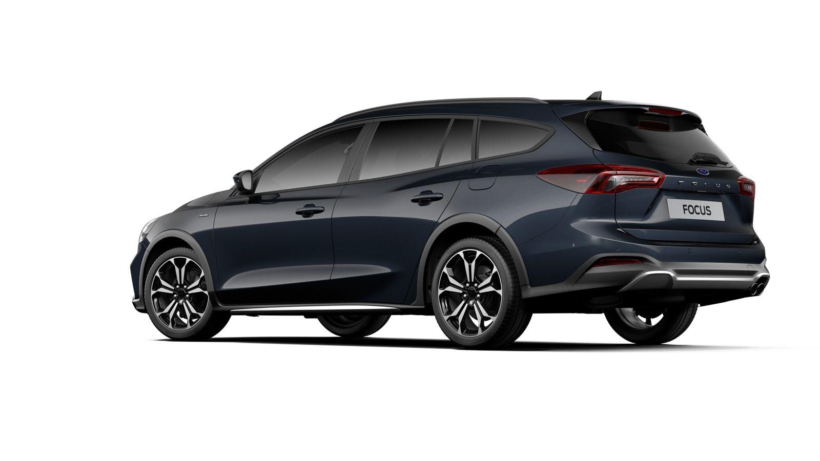 "Nieuw Ford Focus Active X 1.5 EcoBlue 120pk / 88kW A8 - 5d FCD - ""Panther Blue"" Exclusieve metaalkleur 3"