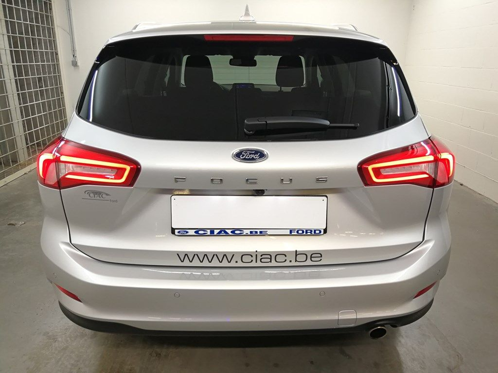 "Demo Ford Focus Tit X 1.5 EcoBlue 120pk A8 CL FCO - ""Moondust Silver"" Metaalkleur 7"