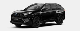 Nieuw Toyota Rav4 5 d. 2.5 Hybrid 2WD e-CVT Black Edition 218 - BLACK MICA