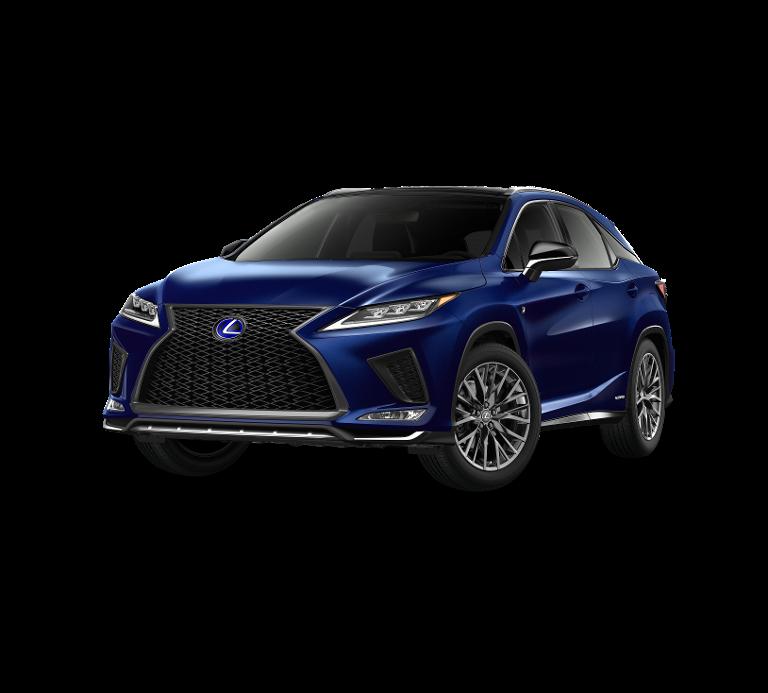 Nieuw Lexus Rx SUV MWB 450h AWD E-CVT Black Line LHD 8X5 - Deep Blue 1