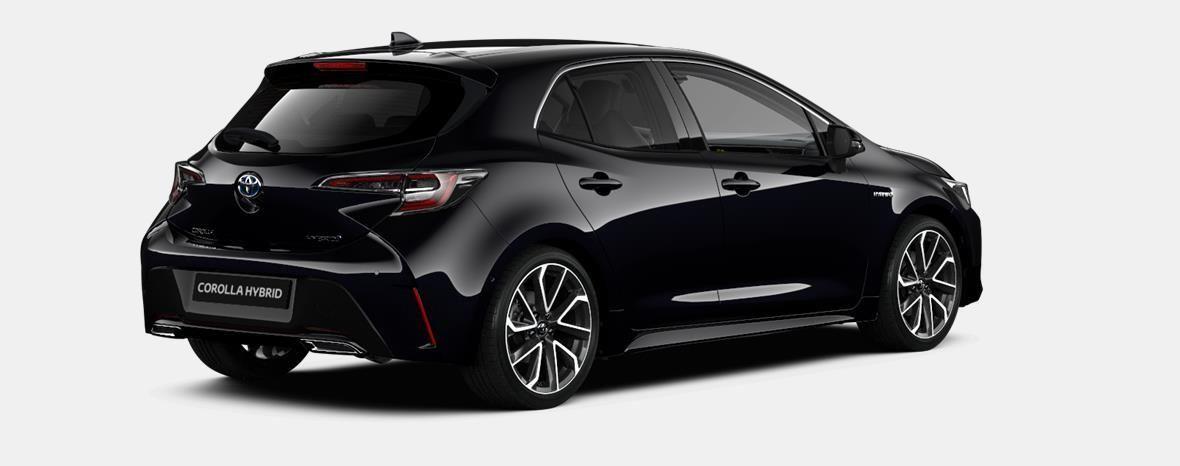 Nieuw Toyota Corolla hb & ts Hatchback 1.8 e-CVT Hybrid CVT Dynamic L 209 - BLACK MICA 3