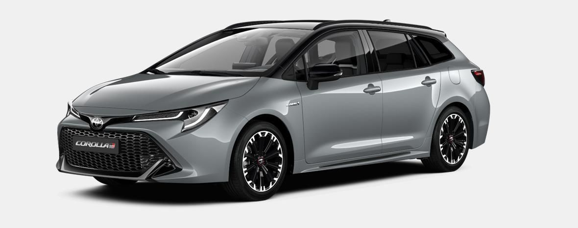 Nieuw Toyota Corolla hb & ts Touring Sports 2.0 Hybrid CVT Style LHD 1J6 - PRECIOUS SILVER METALLIC 1