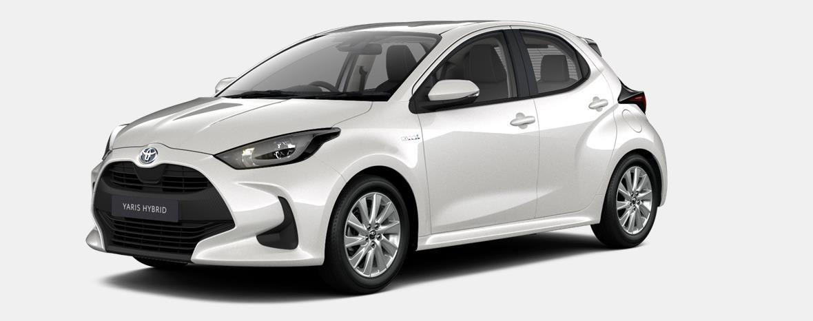 Nieuw Toyota Yaris 5 d. 1.5 Hybrid e-CVT Iconic LHD 089 - WHITE PEARL MC 1