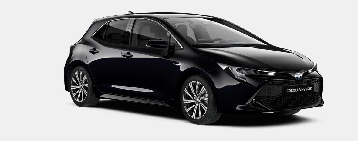 Nieuw Toyota Corolla hb & ts Hatchback 1.8 Hybrid CVT Dynamic LHD 209 - BLACK MICA 4