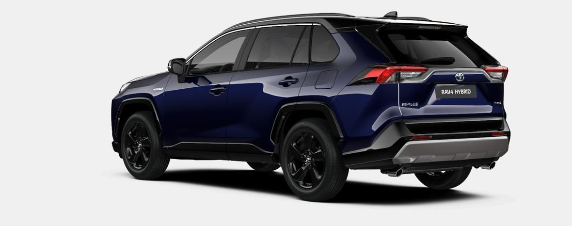 Nieuw Toyota Rav4 5 d. 2.5 Hybrid 2WD e-CVT Style Plus LHD 2RA - Dark Blue / BI-TONE 2