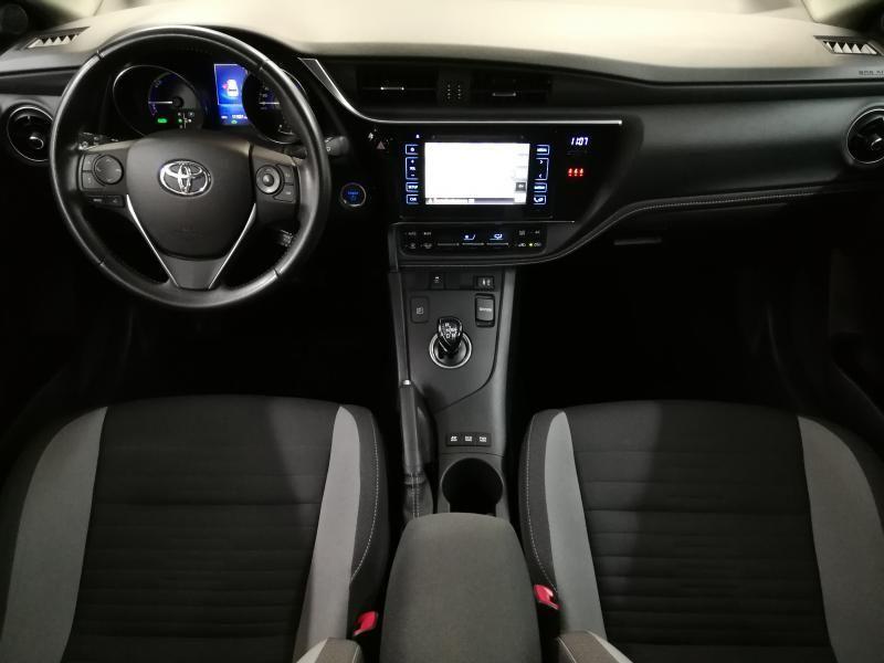 Occasie Toyota Auris 5d. 1.8 CVT HSD TC Dynamic LHD 8U6 - DENIM BLUE METALLIC (8U6) 3