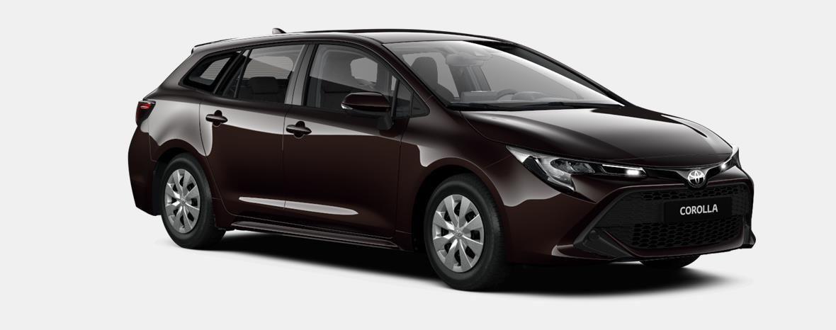 Nieuw Toyota Corolla hb & ts Touring Sports 1.8 e-CVT Hybrid CVT Dyna 4W9 - PHANTOM BROWN METALLIC 2
