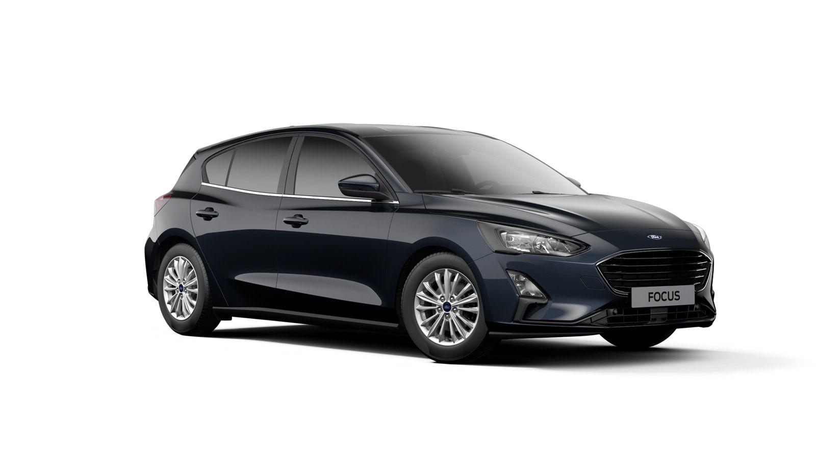 "Nieuw Ford Focus Tit X 1.0 EcoBoost 125pk A8 CL FCD - ""Panther Blue"" Exclusieve metaalkleur 2"